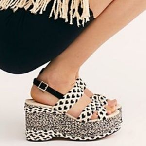 Free People Dulce Platform Wedges